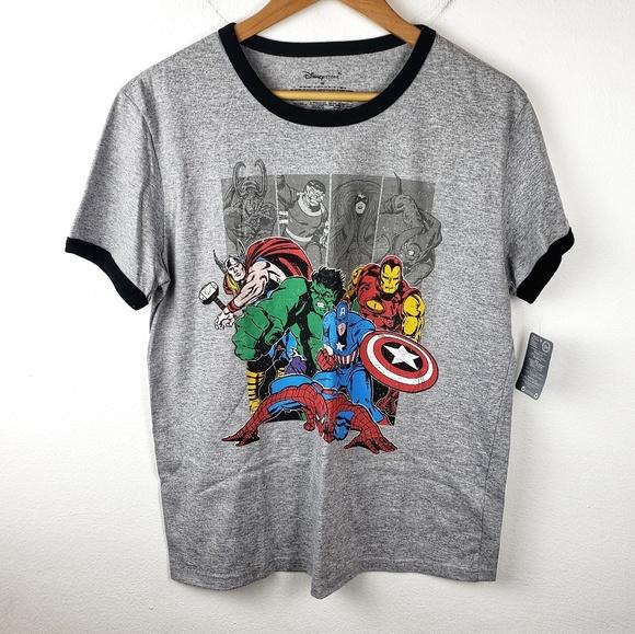 Disney Other - NWT Disney Store | Gray Avengers Marvel Tee Medium